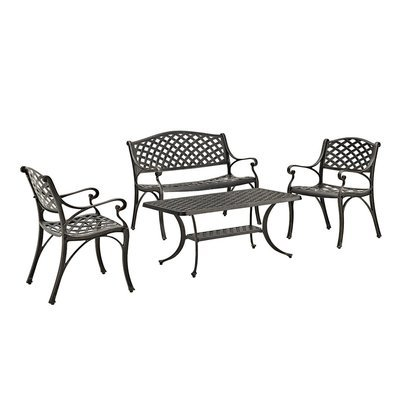 Hyde Park  Patio Conversation Set | 4 Piece