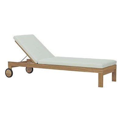 Uptown Teak Collection Chaise