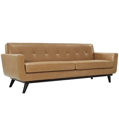 Montgomery Bonded Leather Sofa /  3 Colors