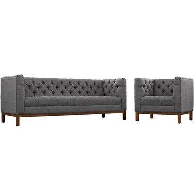 Wrigleyville Sofa & Armchair Set / 3 Colors