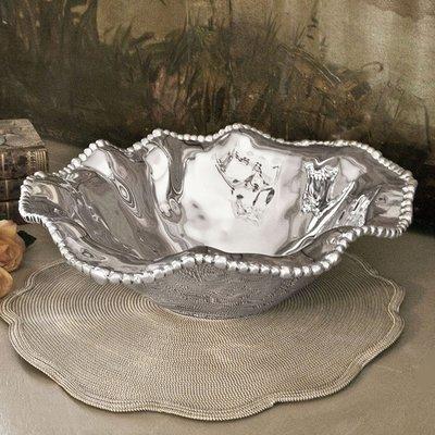 Organic Pearl Large  Bowl