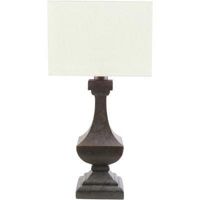 Davis Outdoor Table Lamp   White