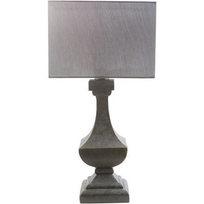 Davis Outdoor Table Lamp    Charcoal