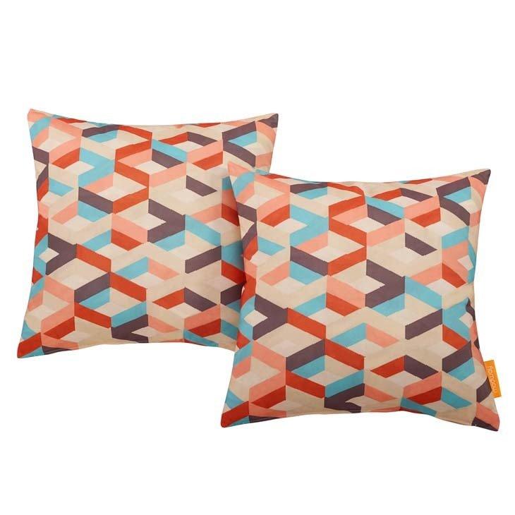 "Montage 2 Piece Outdoor Pillow Set 17"" x 17"""