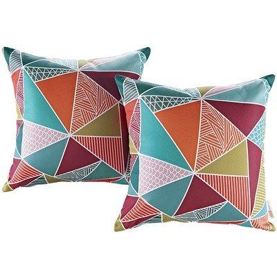 Mosaic 2 Piece Outdoor Pillow Set 17