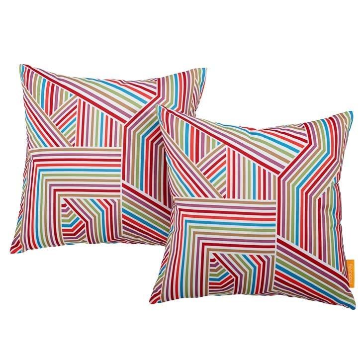 "Tapestry 2 Piece Outdoor Pillow Set 17"" x 17"""