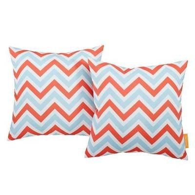 Zig Zag 2 Piece Outdoor Pillow Set 17