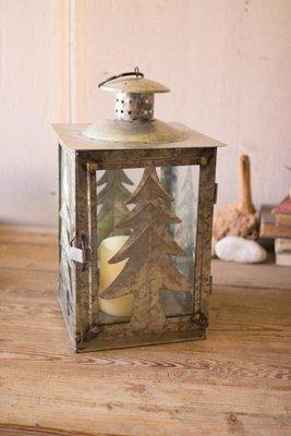 Galvanized Tree Lantern