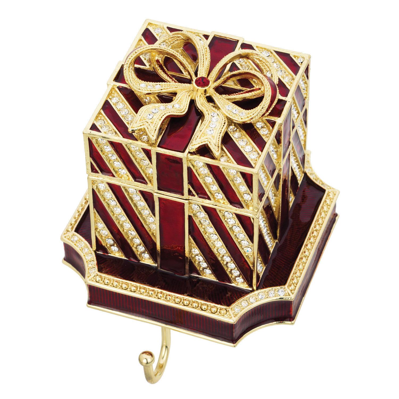 Olivia Riegel Red Gift Box Stocking Holder
