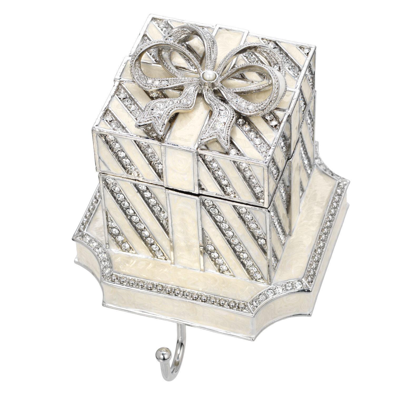 Olivia Riegel White Gift Box Stocking Holder