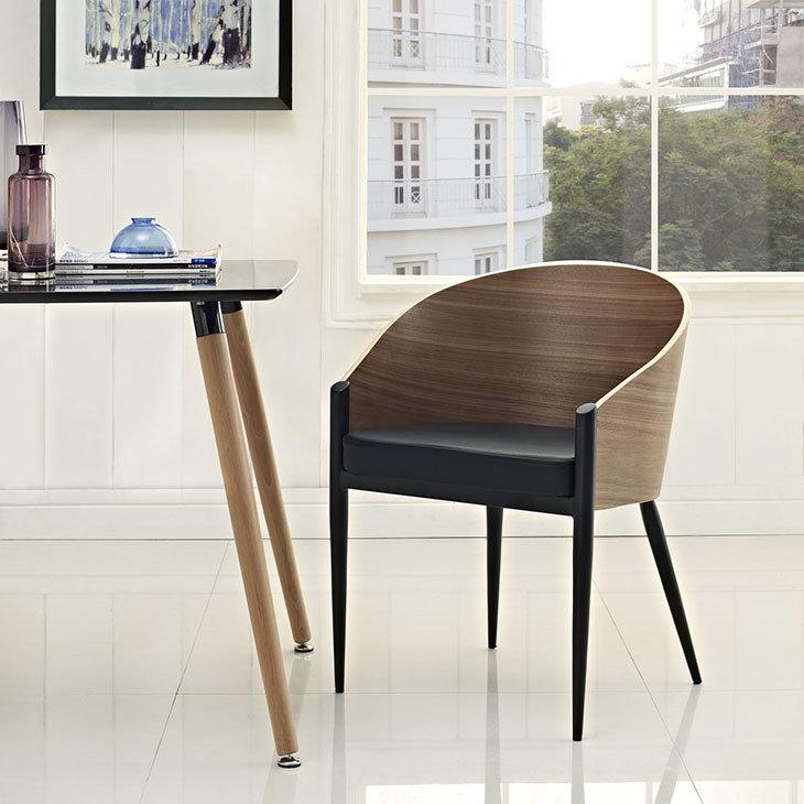 Aldren Dining Chair   Walnut