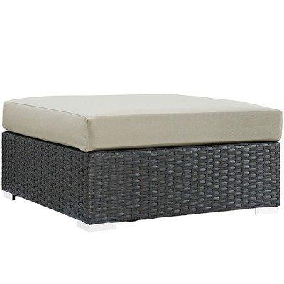 Soho Patio Square Ottoman with Sunbrella® Cushion