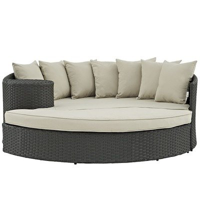 Soho Patio Daybed with Sunbrella® Cushion | 5 Colors