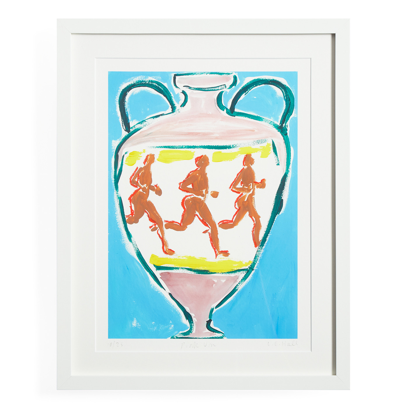 "Luke Edward Hall ""Pink Urn"" Print"