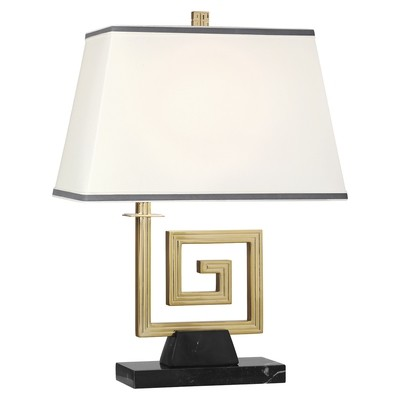 Mykonos Brass  or Nickel Table Lamp