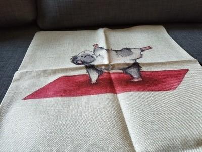 Guinea Pig Cushion  Cover 2