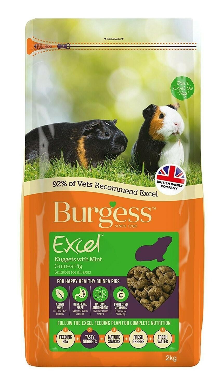 Burgess Mint For Guinea Pigs - Mint 2KG bags