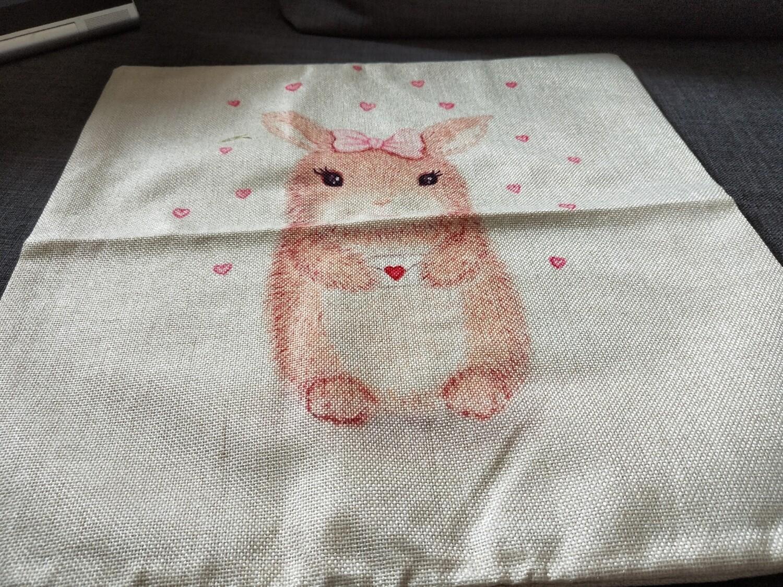 Bunny Cushion  Cover 1