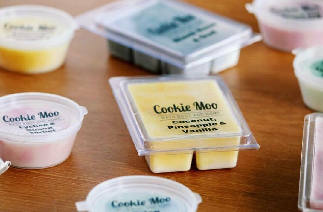 Cookie Moo Clam Shell Melts - 6 pack