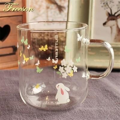 Butterfly mug - standing bun