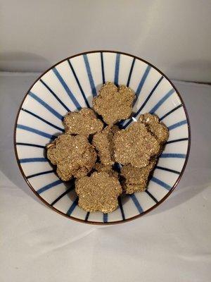 Papaya Bunny cookies