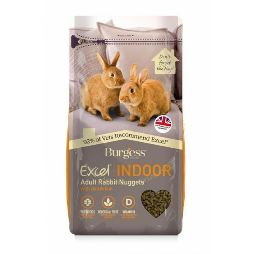 Burgess Indoor Rabbits - 1.5kg