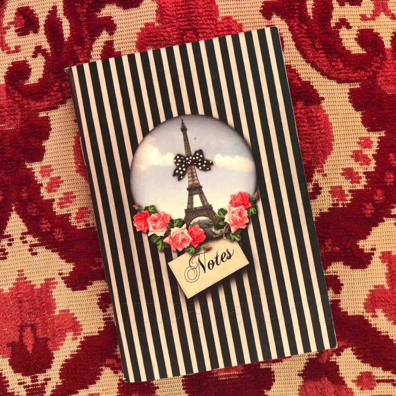 Notitieboekje 'Paris Blues' - Les Cakes de Bertrand