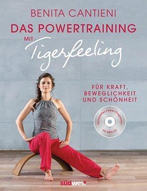 Buch und Audio-CD: Das Powertraining mit Tigerfeeling (2017)