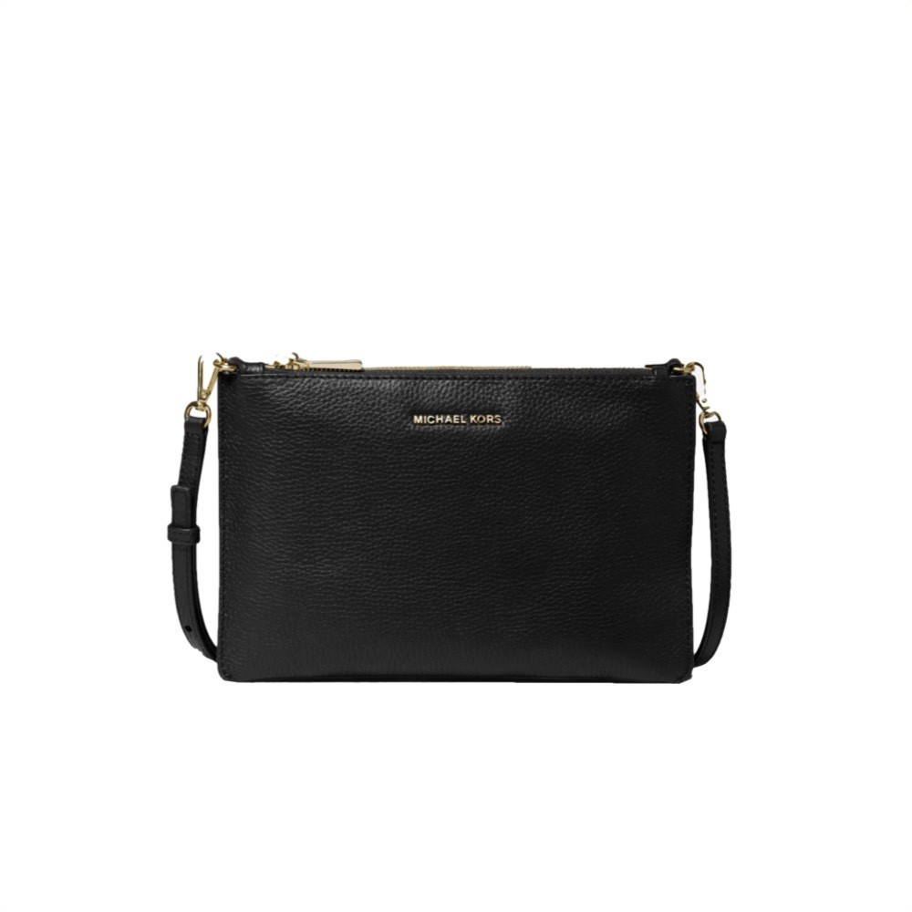 MICHAEL KORS - Large Double Crossbody - Black