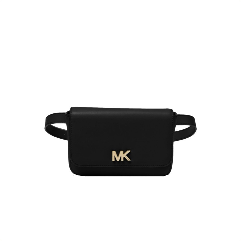 MICHAEL KORS - Mott Marsupio in pelle - Black