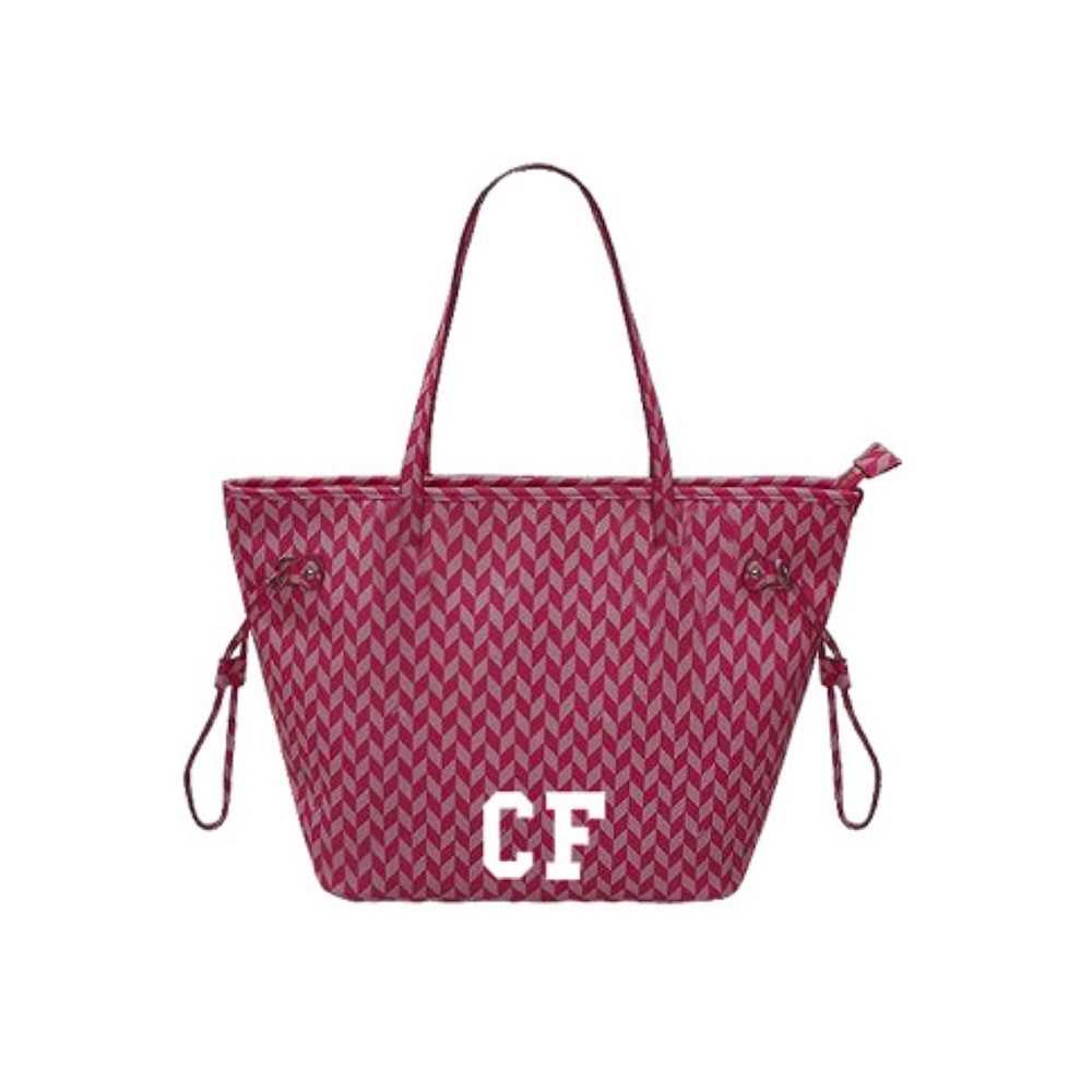 MIA BAG - Shopping Media Monogram Personalizzabile - Rosa