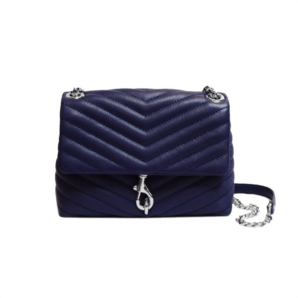 REBECCA MINKOFF - Edie Flap Shoulder Bag - Twilight
