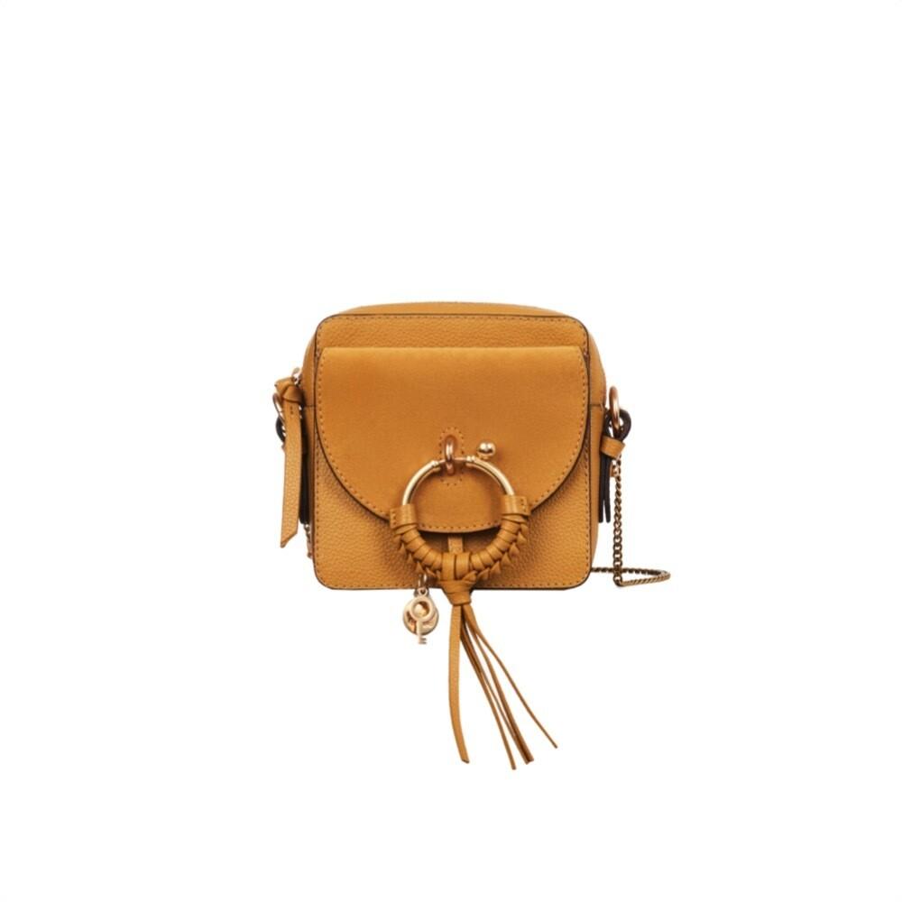 SEE BY CHLOÉ - Joan Mini Crossbody Bag - Burnt Yellow