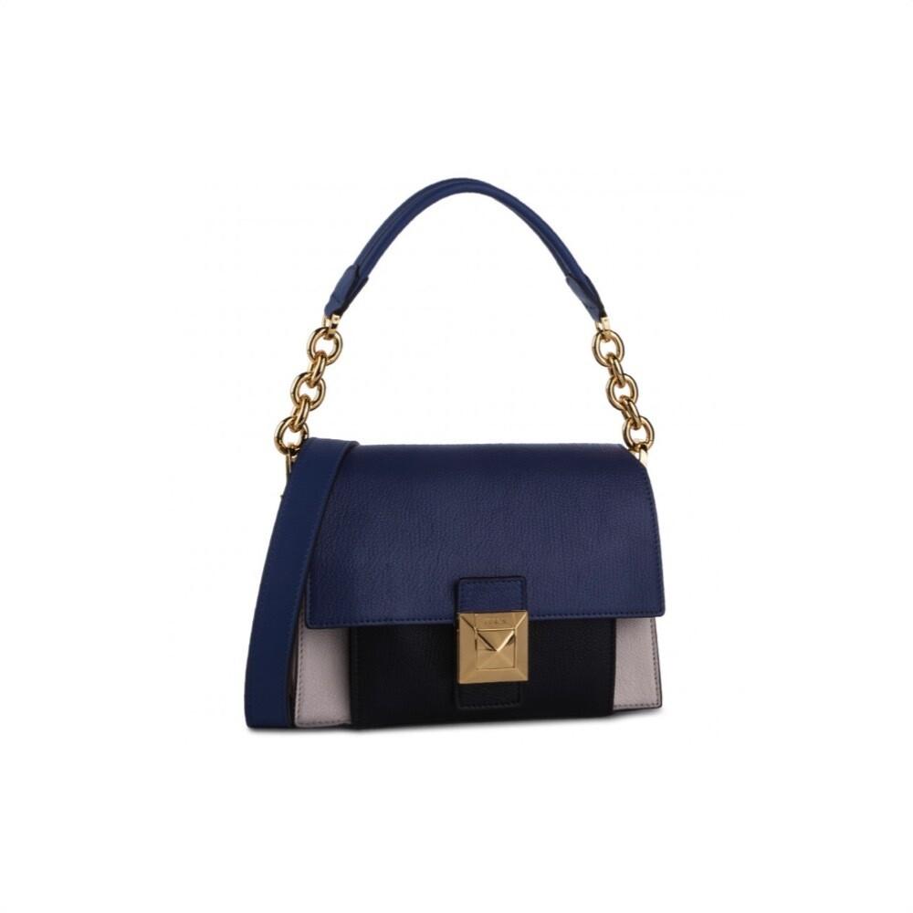 FURLA - Diva S Shoulder Bag - Lino/Pervinca