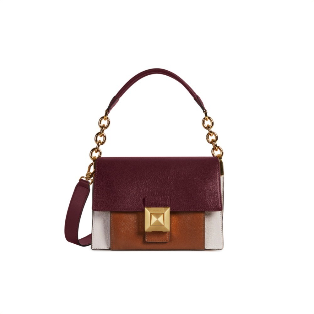 FURLA - Diva S Shoulder Bag - Lino/Ribes