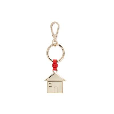 COCCINELLE - Casa Portachiavi/Charm Basic Metal - Polish Red
