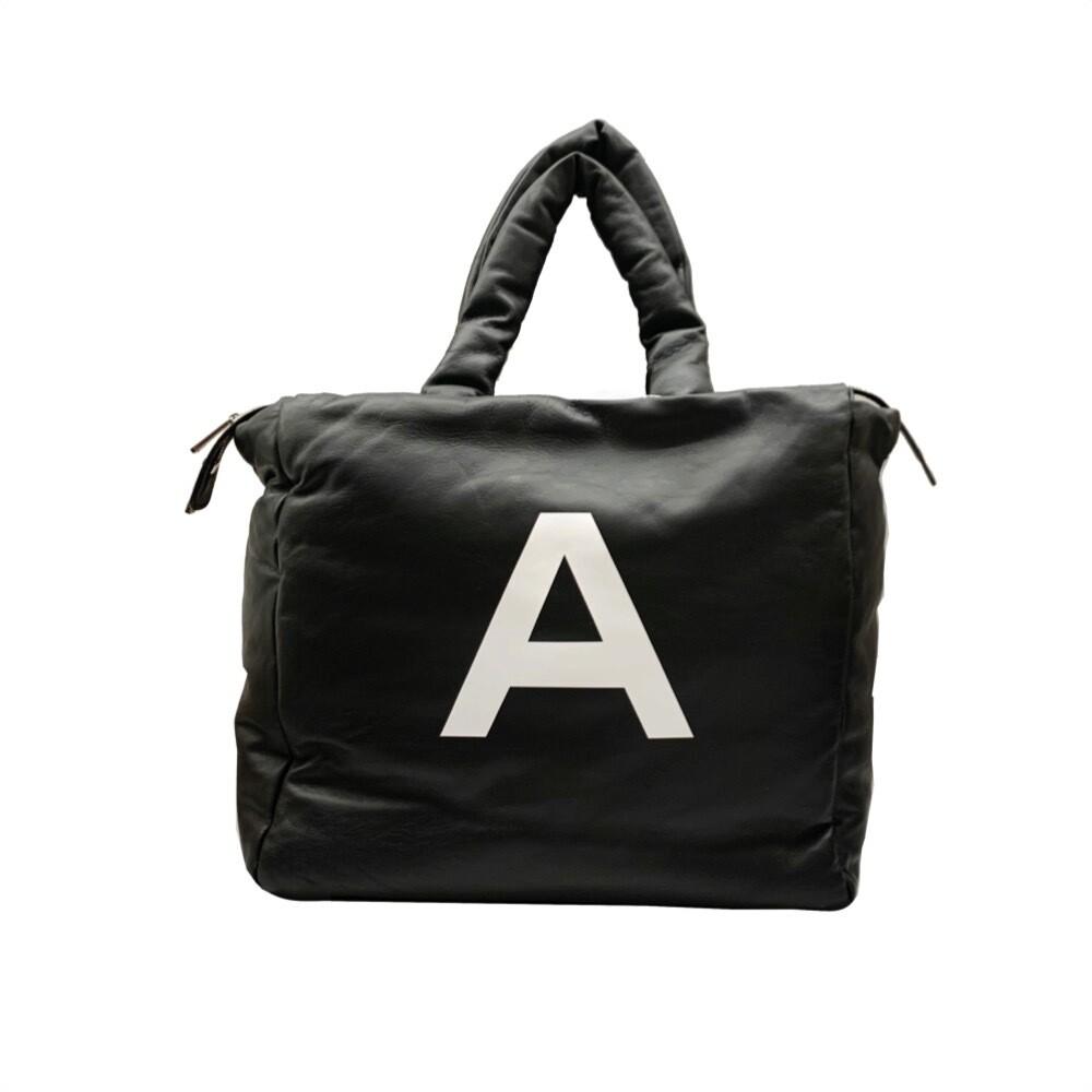 "MIA BAG - Shopper Grande Pouf ""A"" - Nero"