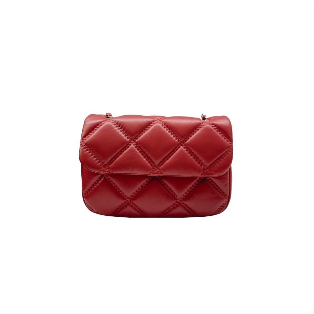 MIA BAG - Tracolla Morbida Bubble Personalizzabile - Rosso