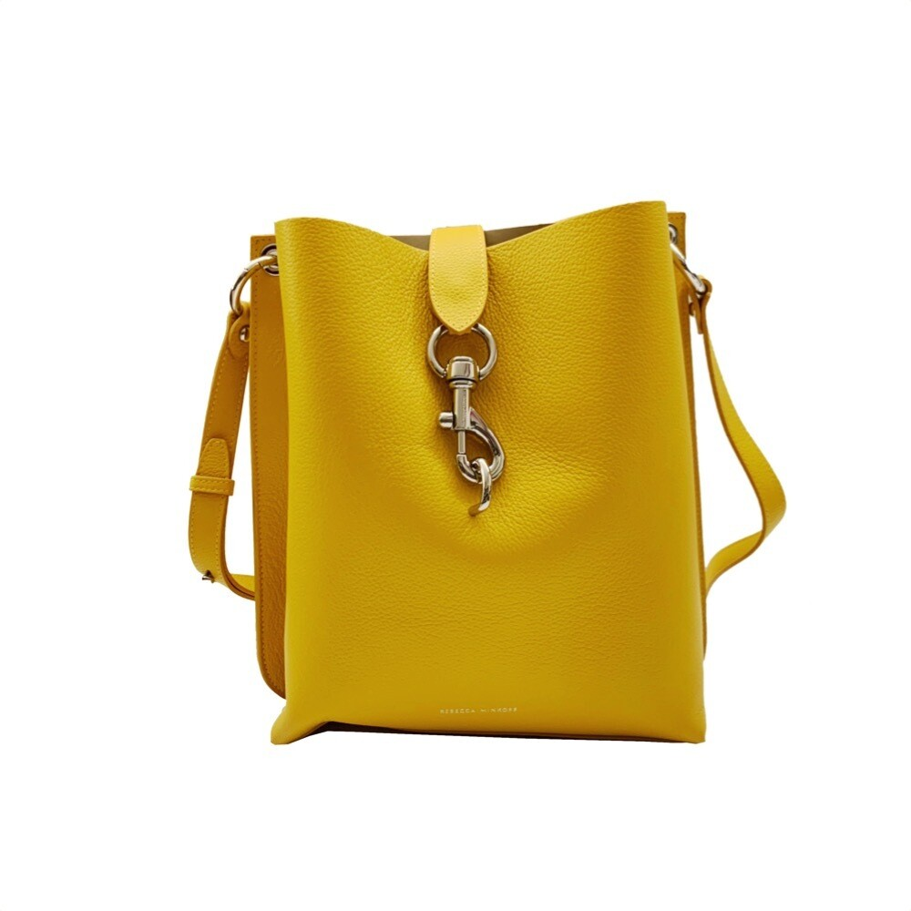 REBECCA MINKOFF - Meghan Shoulder Bag  - Tumeric