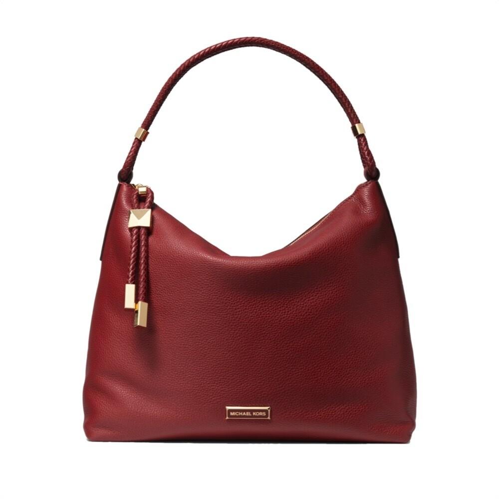 MICHAEL KORS - Lexington Large Shoulder Bag - Barolo