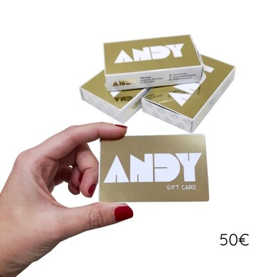 ANDY - Gift Card [50€]