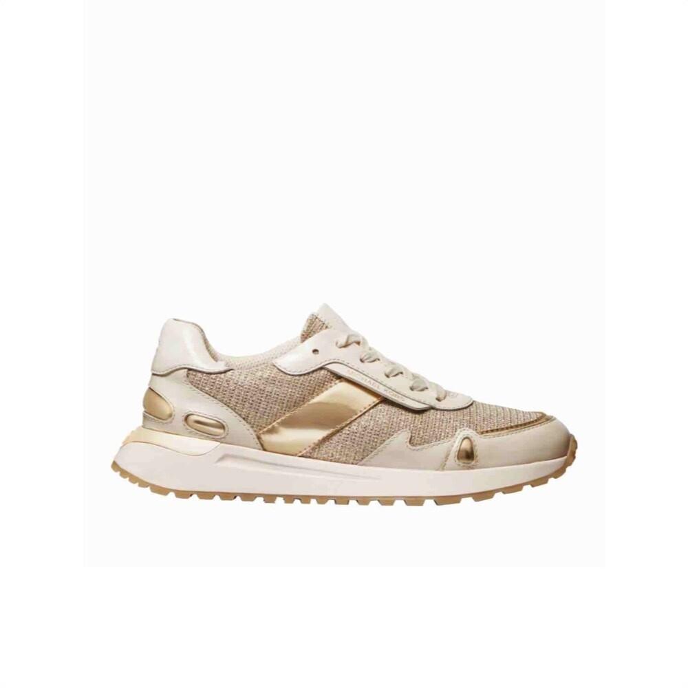 MICHAEL KORS - Monroe Sneakers - Pale Gold