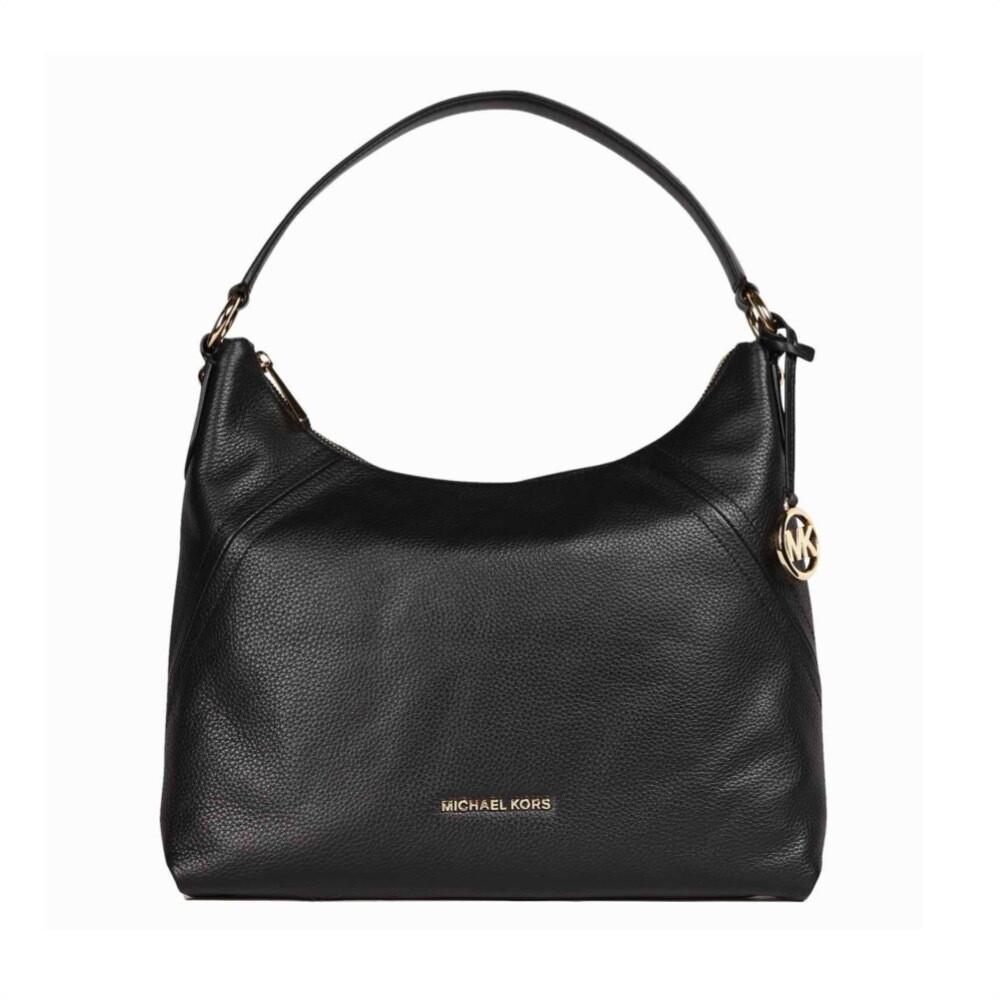 MICHAEL KORS - Aria Shoulder Bag - Black
