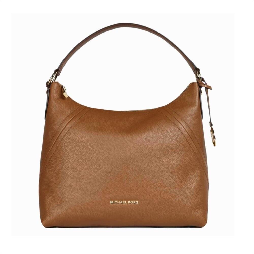 MICHAEL KORS - Aria Shoulder Bag - Luggage