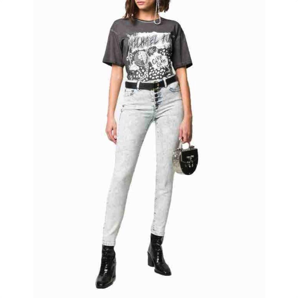 MICHAEL KORS - Jeans Skinny Acid Wash - Indigo Acid Wash
