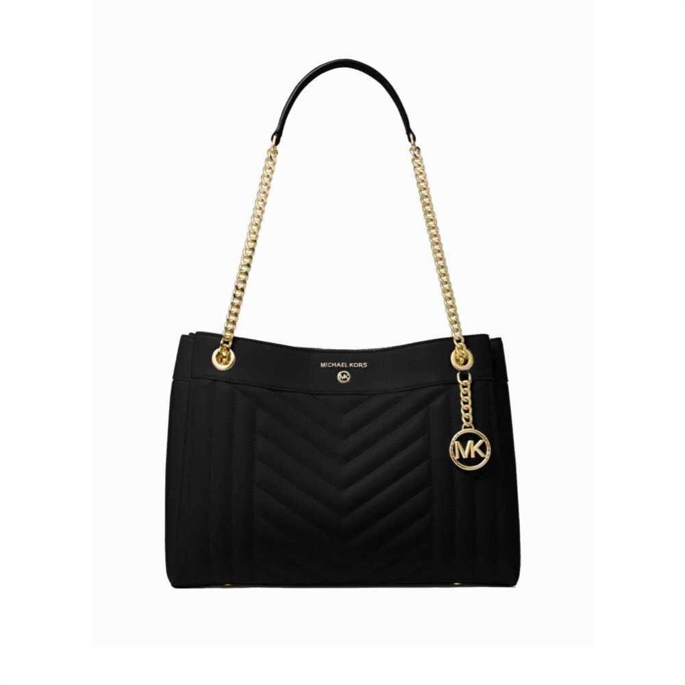 MICHAEL KORS - Susan Medium Shoulder Bag - Black
