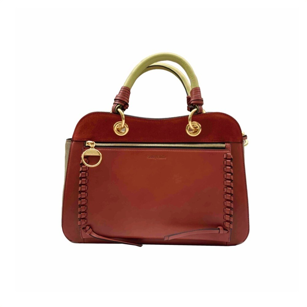 SEE BY CHLOÉ - Tilda Borsa media - Faded Red