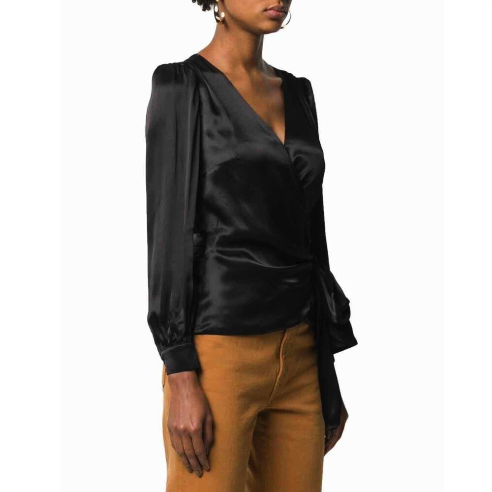 MICHAEL KORS - Camicia in raso - Black