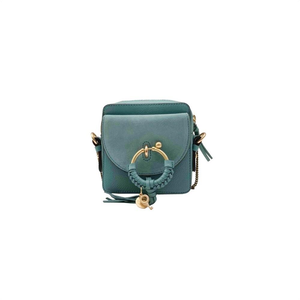 SEE BY CHLOÉ - Joan Mini Crossbody Bag - Mineral Blue