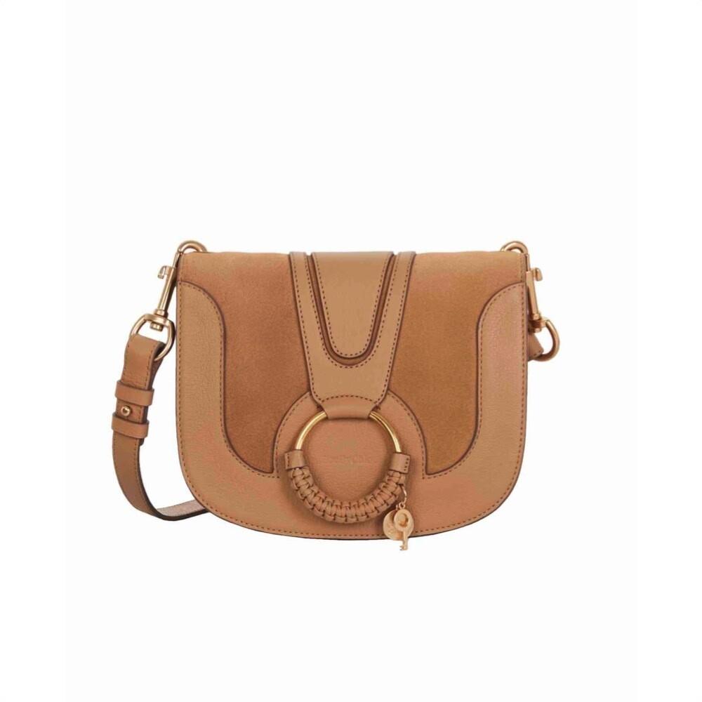 SEE BY CHLOÉ - Hana Small Crossbody Bag - Coconut Brown